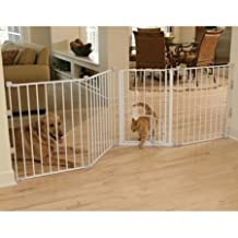 Carlson Pet Products 1510HPW Extra Tall Flexi Pet Gate