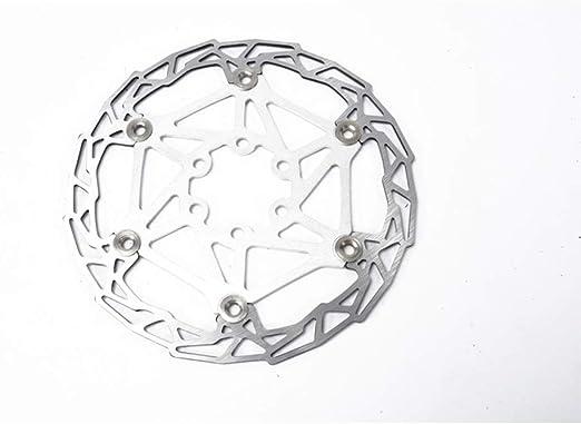 Freno de bicicleta de disco flotante Disco ultraligero de freno de montaña de color flotante Disco