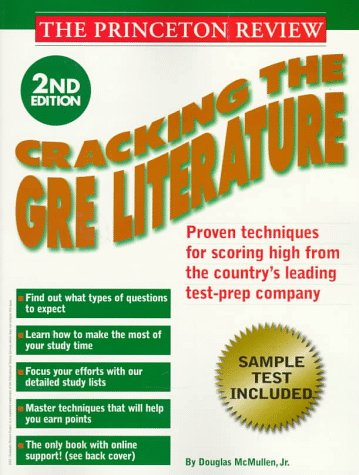 Download Princeton Review Cracking The Gre Literature 2nd Edition