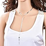 New Women Fashion Long Pendant Chain Choker Statement Bib Necklace Jewelry Gifts