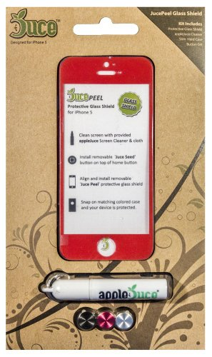 The Best JucePeel Glass Screen Protector Kit for iPhone ()