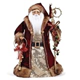 "Roman 33842 19"" tall Santa Tree topper"
