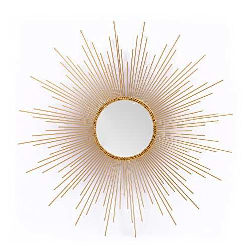Adeco Home Collection Sunburst Mirror