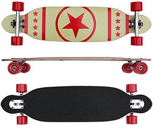 Longboard Board 96 cm lang ABEC-7 Kugellager Komplettboard Skateboard