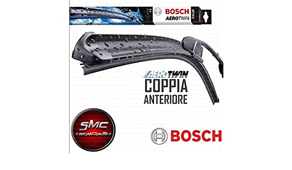 Kit 2 escobillas limpiaparabrisas Bosch delanteros: Amazon.es: Coche y moto