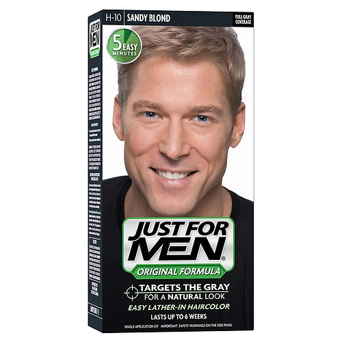 JUST FOR MEN Hair Color H-10 Sandy Blond 1 ea (Pack of 2) by Just for Men