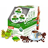 Keurig K-Cup Coffee Pods, Weight Loss Control Appetite Slimming COFFEE, Strong Antioxidant, Organic by USDA, GCBE, Garcinia Cambogia Herbal Extracts, 24 Count Per Box
