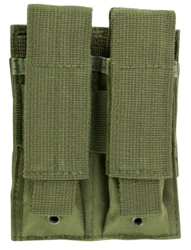 NcSTAR VISM Double Pistol Mag Pouch/Green