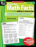Mastering Math Facts - Addition and Subtraction, Richard Piccirilli and Richard S Piccirilli, 0545064058