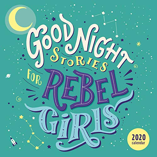 Good Night Stories for Rebel Girls 2020 Square Wall Calendar por Elena Favilli,Francesca Cavallo