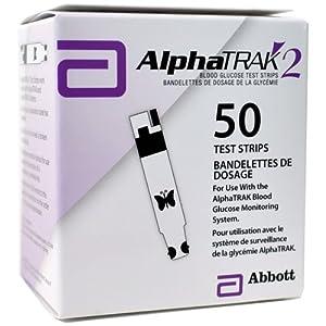 Abbott AlphaTRAK 2 Blood Glucose Test Strips