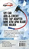 10 Pack - EPAuto 12V Car Add-a-circuit Fuse TAP