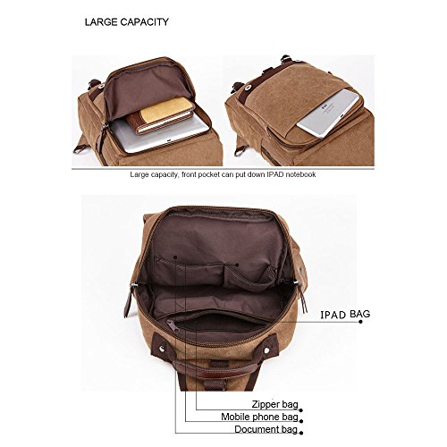 Beatsport - Bolso de viaje de Lona  Unisex adulto Grey Backpack
