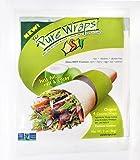 Coconut Wraps - Low Carbohydrate & Sugar - Gluten Free Bread/Tortilla Alternative - Healthy, Easy & Safe - 3 Packs of 4 Count Original