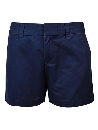 Tommy Hilfiger Womens Twill Solid Khaki, Chino Shorts   Amazon.com