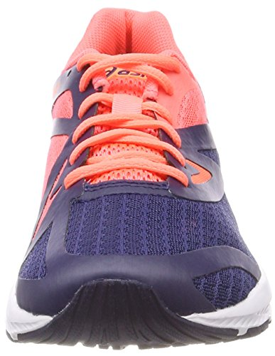 Coral Blueindigo Femme Running Amplica Multicolore Asics indigo Chaussures Rose Blue De Flash q1f8TP