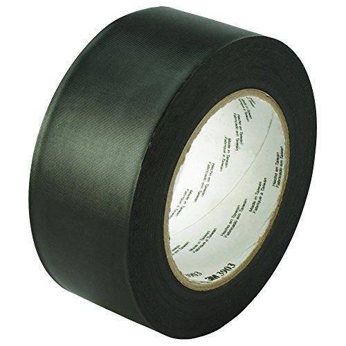 Partners Brand PT98739033PKB Black 3M 3903 Duct Tape, 50 yd.