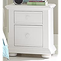 Liberty Furniture 607-BR60 Summer House 2-Drawer Night Stand, 24 x 17 x 27, Oyster White