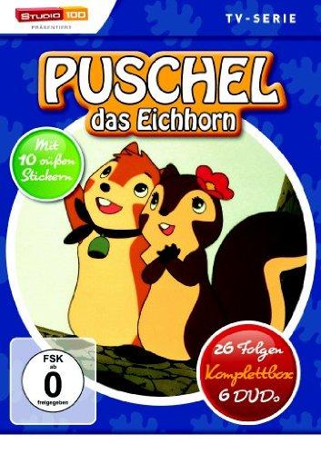 Puschel, das Eichhorn - 26 Folgen, Komplettbox [Alemania] [DVD]