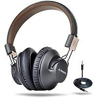 Avantree BTHS-ASP-BLK Over-Ear 3.5mm Wireless Bluetooth Headphones