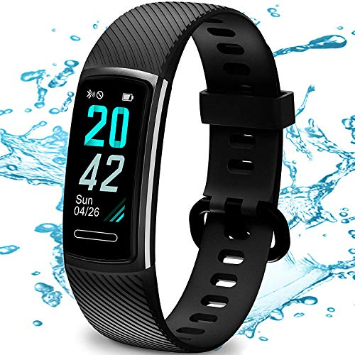 TEMINICE High-End Fitness Trackers HR, Activity Trackers Health Exercise Watch with Heart Rate and Sleep Monitor, Smart…
