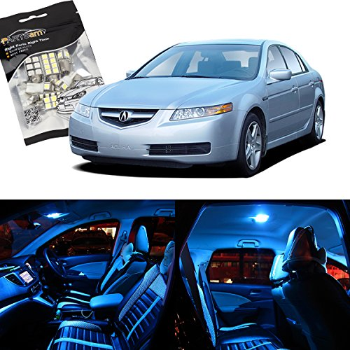 partsam-ice-blue-12pcs-interior-led-package-license-plate-lights-for-acura-tl-2004-2008