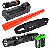 EdisonBright Fenix PD35 2015 TAC Edition 1000 Lumen CREE LED tactical flashlight w/ARB-L2S rechargeable battery, ARE-X1 charger, holster, AOT-S Traffic wand & 2X CR123A lithium batteries bundle Review
