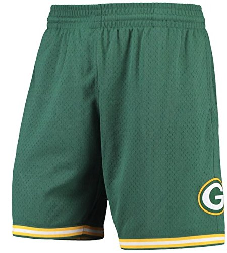 Mitchell & Ness NFL MESH SHORTS GREEN BAY PACKERS (3XL)