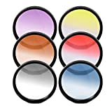 67MM Multicoated Graduated 6 Piece Filter Kit For Nikon DF, D90, D3000, D3100, D3200, D3300, D5000, D5100, D5200, D5300, D5500, D7000, D7100, D300, D300s, D600, D610, D700, D750, D800, D810, D810A Digital SLR Cameras Which Has Any Of These Nikon Lenses 28