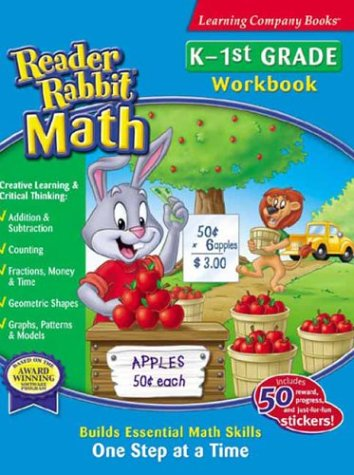 Reader Rabbit Math Kindergarten-1St Grade (Riverdeep Math)