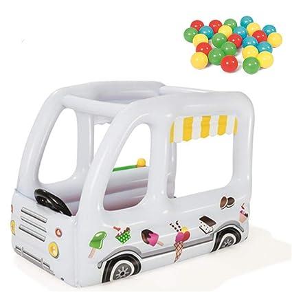 Amazon.com: AUZZO HOME - Casa de juguete hinchable para ...