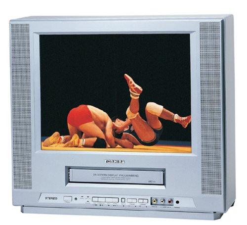 Toshiba MV14FM4 14-Inch Pure Flat Screen TV/VCR ()