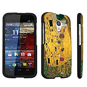 DuroCase ? Motorola Moto X 2013 First Generation Hard Case Black - (The Kiss)