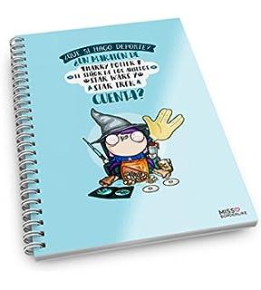 Cuaderno A5 Missborderlike Hasta cuando no hago nada lo hago con estilo