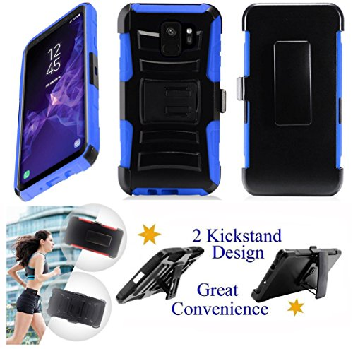 for 5.8' Samsung Galaxy S9 Case Belt Clip Holster...