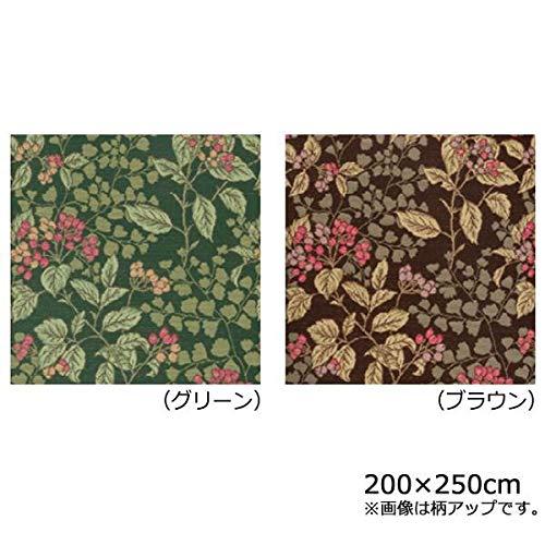 川島織物セルコン ジューンベリー マルチカバー 200×250cm HV1019S Gグリーン   B07RZNW8TS
