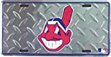 Cleveland Indians Diamond Emboss Auto Tag