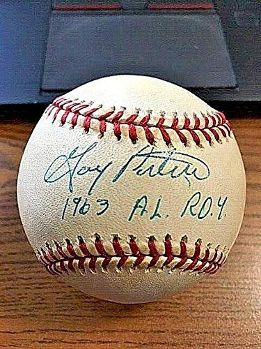 GARY PETERS SIGNED AUTOGRAPHED OAL BASEBALL! Red Sox, White Sox!