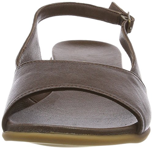 Andrea Conti 1745712, Women's Heels Sandals Brown (Dunkelbraun 061)