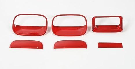 bestmotoring Auto Puerta Tirador y portón – Marco embellecedor para Suzuki Jimny 12 – 15 6pcs