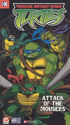 Teenage Mutant Ninja Turtles 1 - Attack of Mousers USA VHS ...