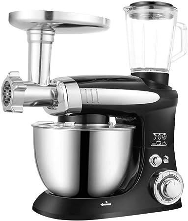 Batidora Amasadora,1000W Amasadora De Bajo Ruido Para Repostería,Robot De Cocina Automática Multifuncional,6 Velocidades Robots De Minipicadoras Con 4L Batidoras: Amazon.es: Hogar