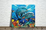 Sea life Ceramic Tile 4.25 Inches Reproducction #1