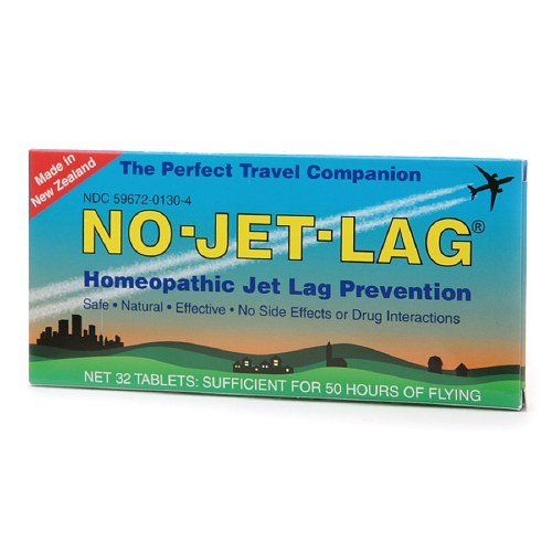 No-Jet-Lag Homeopathic Jet Lag Prevention Tablets 32