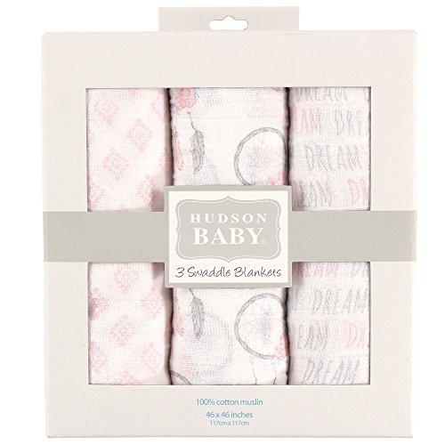 Hudson Baby Muslin Swaddle Blankets Dream Catcher [並行輸入品]   B0762X6DBY