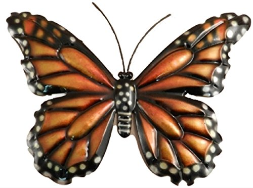 (Monarch Butterfly Metal Wall Hanging)
