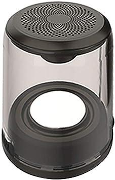 UHAoo Caja de Resonancia Transparente Bluetooth 5.0 Altavoz ...