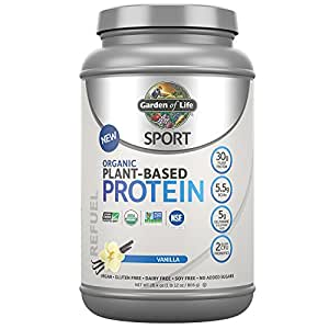 Garden Of Life Sport Organic Plant Based Protein Bcaa Amino Acid Protein Powder