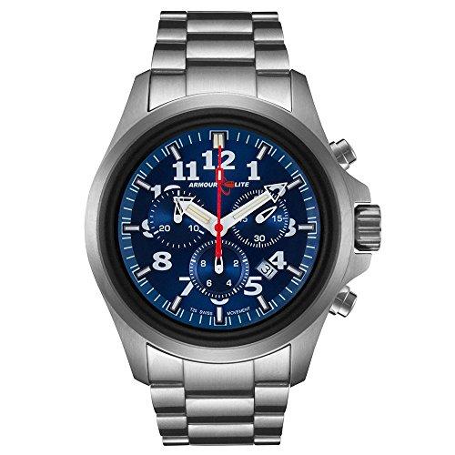 Armourlite AL814 Officer Series Blue Dial Chrono Watch