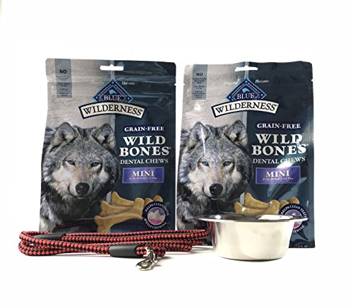 Wilderness Blue Dog Dental Chews-Made in USA Only